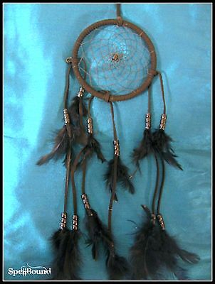SPELL-INFUSED Witches PROTECTION Black DREAMCATCHER 99% Accurate WITCH Amulet