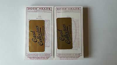 Players DOGS HEADS - MINT/SEALED - Set 50 Cards - COLLECTORS SOCIETY REPRINT