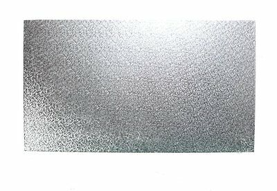"""10"""" x 8"""" Inch Oblong Rectangular Cake Board 3mm Thick"""