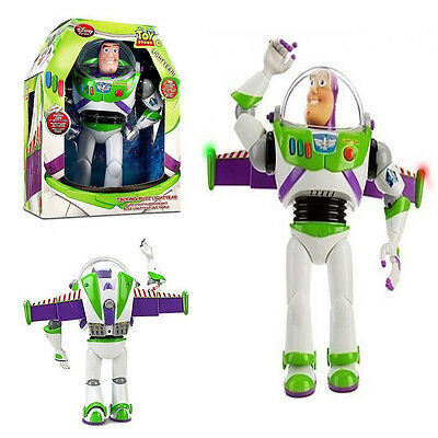 """Pixar Toy Story 12"""" 30CM Buzz Lightyear Ultimate Talking Action Figure Kids Toys"""