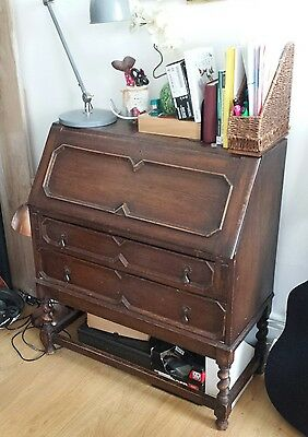 BUREAU DESK EDWARDIAN STYLE - Ready to use or for restoration