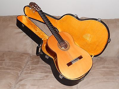 Made In 1977 Mitsuru Tamura Model 1000 Classical Guitar In Excellent Condition