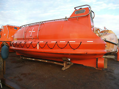 Lifeboat For Conversion To Canal Boat,''''boat Sold'''.
