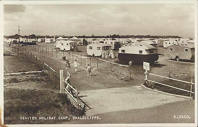 UK Kent Swalecliffe Holiday camp RPPC 1960s