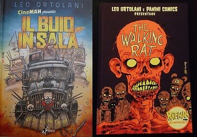 ratman leo ortolani walking rat-man buio in sala lotto set variant limitata raro