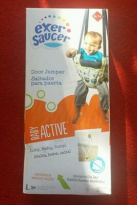 """ NEW "" Baby Active Exer Saucer Door Jumper  ( Free Shipping )"