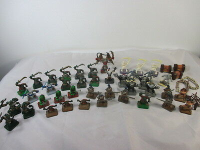 41 Heroquest game figures replacement parts painted, used condition