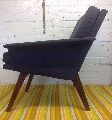 Vintage Bedroom / Cocktail Chair Made In Poland Mid Century Armchair