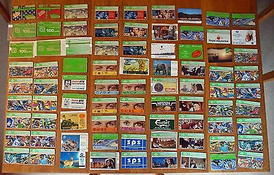 BT, Mercury and other Phone cards (81 cards)