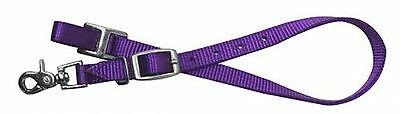 Showman PURPLE Nylon Wither Strap For Horse Breast Collar! Barrel Racing! TACK!