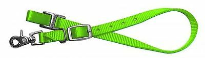 Showman LIME Nylon Wither Strap For Horse Breast Collar! Barrel Racing! TACK!