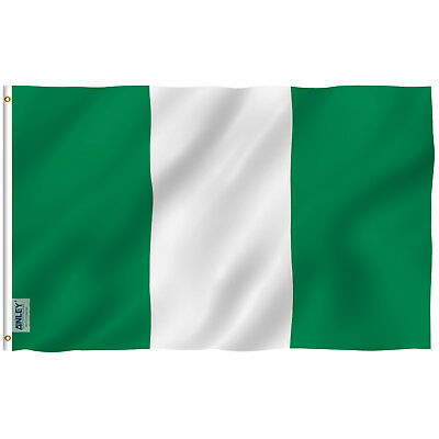 Anley Fly Breeze 3x5 Foot Nigeria Flag Nigerian National Flags Polyester 3X5 Ft