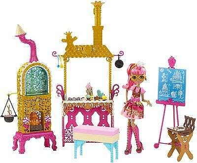 Ever After High Sugar Coated Kitchen with Ginger Breadhouse Doll Play Set