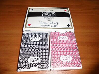 James Bond Casino Royale Playing Cards W/Poker Chip 007 Unused