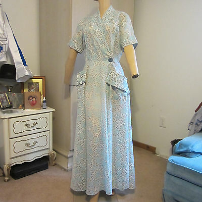 Vintage Lounge Wear 1940s ,1950s costume Pillow Talk, Its a Wonderful Life
