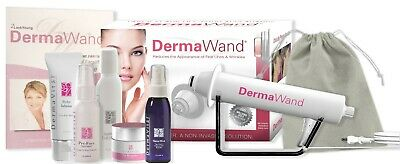 DermaWand - Super Deluxe Kit 1 Year Full Warranty - 30 Day Return Policy - NEW