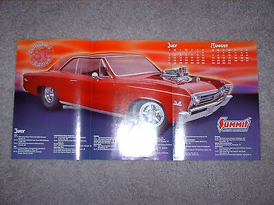 """2005 Summit Racing """"Back To Life On The Street"""" '67 Impala SS Calendar/Poster"""