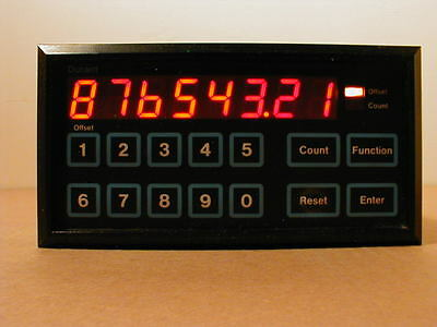 Durant Eaton President 58811-400 8-Digit Counter Totalizer #6