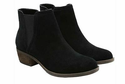 NEW Kensie Ladies' Garry Short Heel Suede Bootie