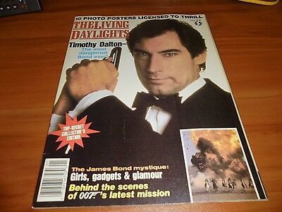The Living Daylights Official Magazine Top Secrets Collectors Ed  007 James Bond