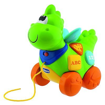 Chicco Bilingual Talking Dinosaur Toy for Infants & Toddlers - Dutch & English