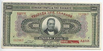 GB604 - Banknote Griechenland 10.000 Drachmai 1926 Pick#100b TOP Greece