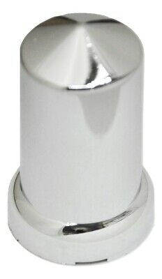 "lug nut covers(20) 33MM flange 3-1/8"" tall round pointed push on plastic"