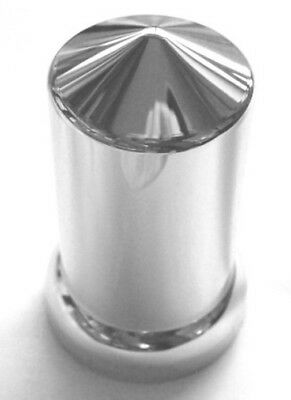 "lug nut covers(60) 33MM flange 3-1/8"" tall round pointed push on plastic"