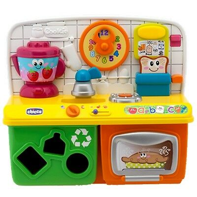 Chicco Talking Kitchen Toy (English with Spanish Mode) 12mths +