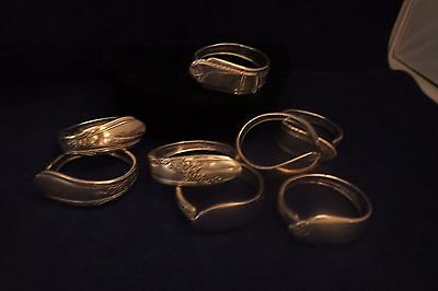 8 Silver Napkin Rings – Various Brands – Great for Parties/Buffets