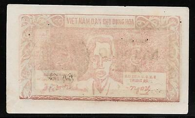 Vietnam P-47a 5 Dong Credit Note 1949-50