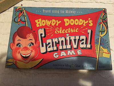 Vintage 1950s Howdy Doody's Electric Carnival Game