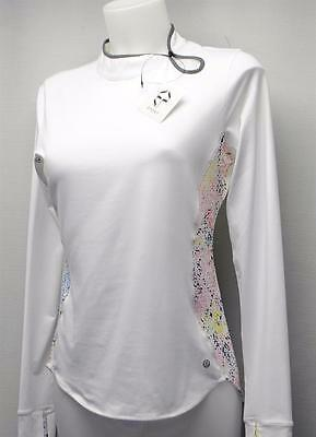 New Ladies SMALL EP PRO IMPRESSIONS polyester spandex long sleeve  golf top