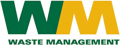 Waste Management Sticker Decal Peel And Stick 5 Inches Long