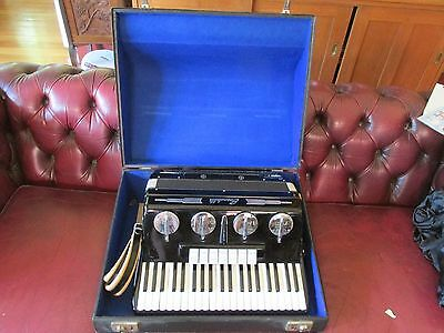 Vintage Scandalli Maestrina Piano Accordian in Original Case