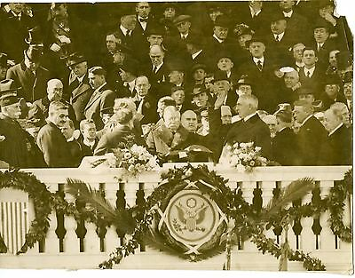 President Warren Harding swears into office 1921 Original Press Photo