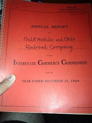 Annual Report Of Gulf, Mobile & Ohio Railroad Company Year Ending 1969