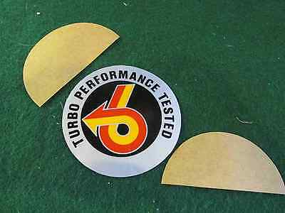 1980's Buick Grand National & ALL T-Type Turbo Cars Factory Windshield Sticker