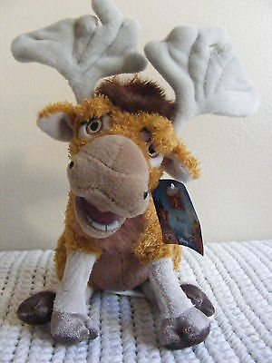 "NEW 6"" Disney Store RUTT Brother Bear Stuffed Animal Plush Toy Bendable Antlers"