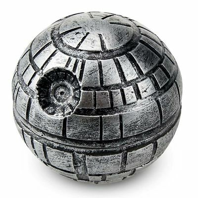 Star Wars Death Star Magnetic Tobacco Herb Grinder Zinc Alloy Crusher 3 Parts