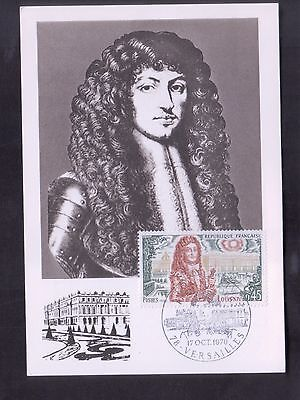 CARTE-MAXIMUM 1970 Louis XIV