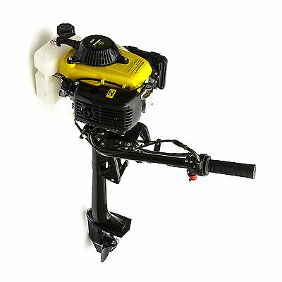 Outboard Engine Motor 2HP 53cc 4 Stroke Honda GXH50 Copy Fishing Small Boat 2T