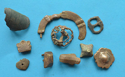 Ancient Viking Period parts of jewelry