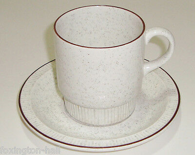 RETRO POOLE CUP & SAUCER oven to tableware