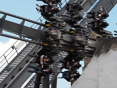The Swarm Rollercoaster Canvas Poster