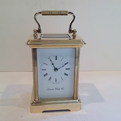 Stunning Carriage Clock From London Retailer Fully Serviced November 2016