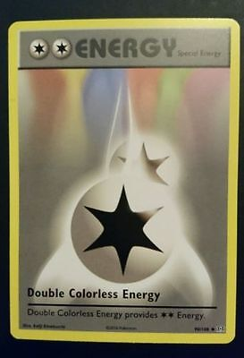 Pokemon Evolutions Double Colorless Energy X18