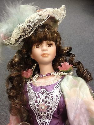 Topp Collection Porcelain Doll - With COA- No Box