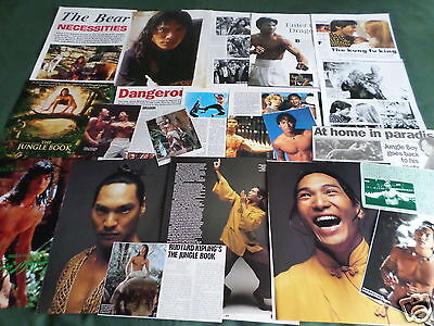 "Jason Scott Lee - Film Star - ""clippings /cuttings Pack"""