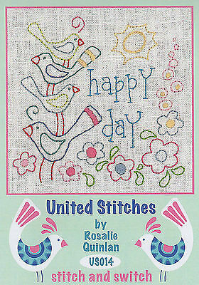 Rosalie Quinlan United Stitches US014 - Pre-printed Embroidery Linen
